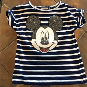 Other - 2 For $20 Mickey Sequin Top
